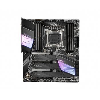 MSI CREATOR X299 SOKET 2066 DDR4 4266 (OC) 3XM.2 USB 3.2 WI-FI 10 GIGABIT LAN EATX