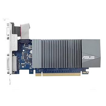 ASUS GEFORCE GT 710 1GB DDR5 LOW PROFÝLE (BRACKET) 32BIT DSUB DVI HDMI EKRAN KARTI