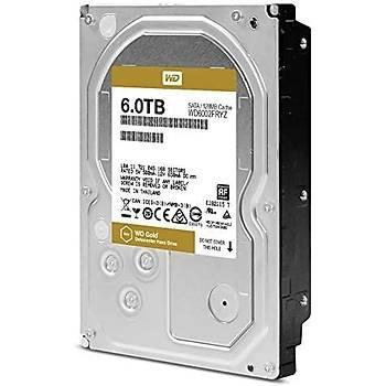 WD GOLD 3.5 SATA III 6Gb/s 7200 RPM 6 TB 128MB Enterprise WD6002FRYZ