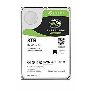 SEAGATE BARRACUDA 3.5 8 TB SATA 3.0 NCQ 256MB 220MB/S 300TB/YÝL ST8000DM004