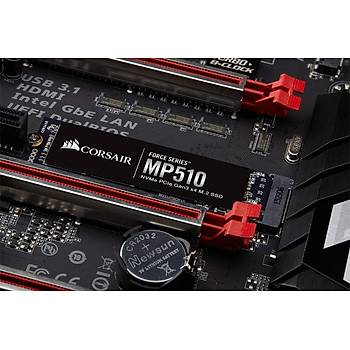 CORSAIR CSSD-F4000GBMP510 FORCE MP510 SERIES NVMe PCIe M.2 SSD 4TB 3.480MB/s OKUMA HIZI / 2.000MB/s YAZMA HIZI