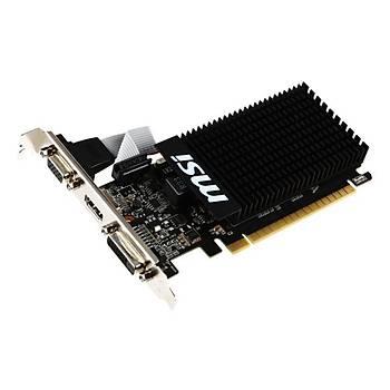 Msi VGA GT 710 2GD3H LP GT710 2GB DDR3 64B DX12 PCIE 3.0 X16 (1XVGA 1XDVI 1XHDMI) Ekran Kartý