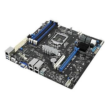 ASUS P11C-C/4L INTEL C246 LGA1151 DDR4 2666 VGA Çift M2 + 8 SATA USB3.1 4 ADET LAN ATX SUNUCU ANAKARTI