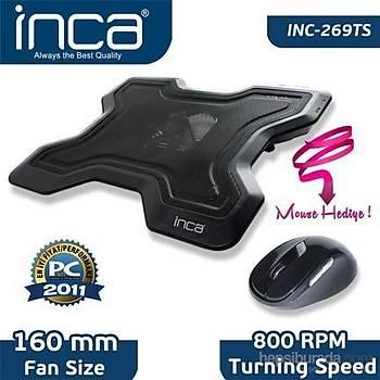 Inca Inc-269Ts Süper Sessiz Notebook Soðutucu+Mouse Seti