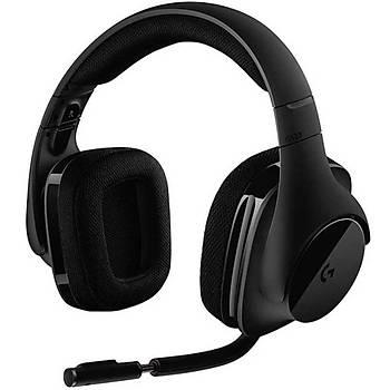 LOGITECH G533 7.1 Surround Kablosuz Siyah Gaming Mikrofonlu Kulak