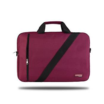 BND205 Eko Serisi, 15.6 inç Uyumlu Laptop, Notebook Çantasý -Bordo
