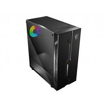 Msi Mag Vampiric 010X Temperli Cam 1X A-RGB Fan+ 1 TO 4 ARGB Led Hub ATX Gaming Bilgisayar Kasasý