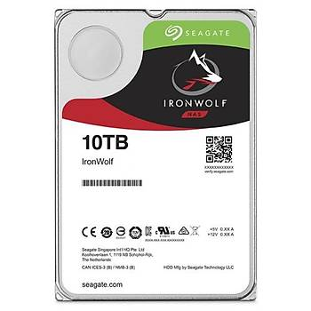 Seagate IRONWOLF 3,510TB 256MB 7200 ST10000VN0008