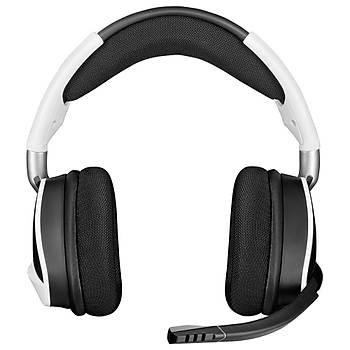 Corsair CA-9011202-EU VOID ELITE RGB 7.1 Kablosuz Oyuncu Kulaklýðý - Beyaz