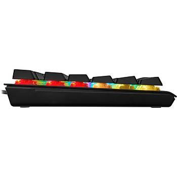 CORSAIR CH-910D018-TR K60 PRO RGB CHERRY MX LOW PROFILE TURKCE MEKANIK OYUNCU KLAVYESI
