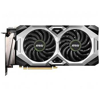 Msi VGA Geforce RTX 2080 Ventus 8G RTX2080 8GB GDDR6 256B DX12U PCIE 3.0 X16 (1XHDMI 3XDP 1XUSB-C) Ekran Kartý