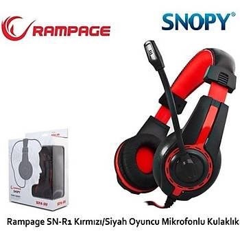 Snopy Rampage SN-R1 Oyuncu Kulaklýk Mikrofon