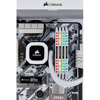 CORSAIR CMT32GX4M2C3200C16W 16GB (2X16GB) DDR4 3200MHz CL16 DOMINATOR PLATINUM RGB SOÐUTUCULU BEYAZ DIMM BELLEK