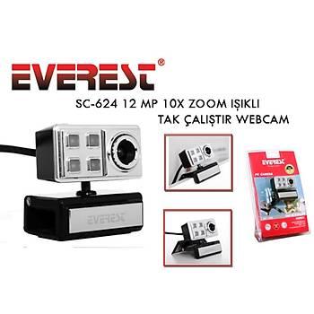 Everest SC-624 Mikrofonlu Webcam WEBCAM