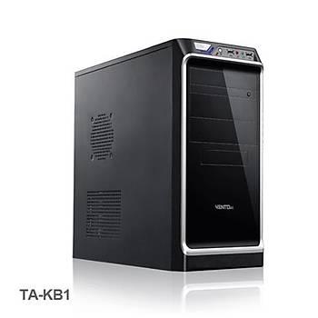 Vento TA-KB1 450W Mid Tower Kasa Siyah-Gümüþ