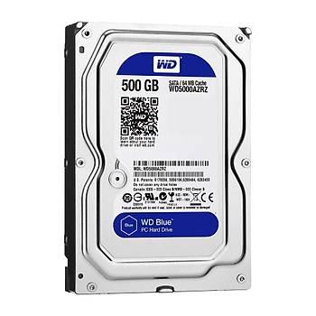 WD Blue 3,5 SATA 500GB 64MB WD5000AZRZ