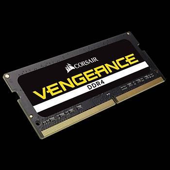 CORSAIR CMSX32GX4M2A3200C22 32GB (2X16GB) DDR4 3200MHz CL22 VENGEANCE SIYAH NOTEBOOK SODIMM BELLEK