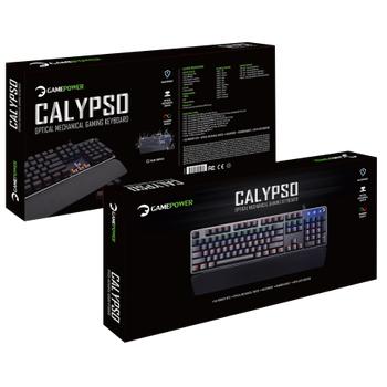 Gamepower Calypso Mekanik Red Switch Oyuncu Klavye