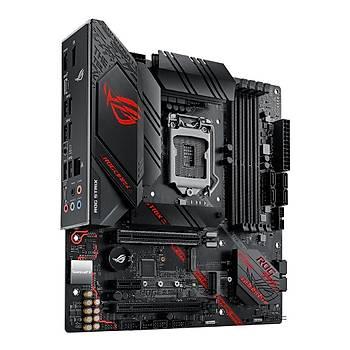 ASUS ROG STRIX B460-G GAMING Intel B460 LGA1200 DDR4 2933 DP HDMI Çift M2 USB3.2 AURA RGB COM mATX 128GB Ram Desteði ANAKART