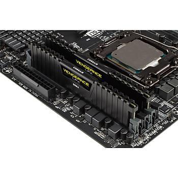 CORSAIR CMK32GX4M2B3200C16 32GB (2X16GB) DDR4 3200MHz CL16 Vengeance  BLACK LPX Bellek