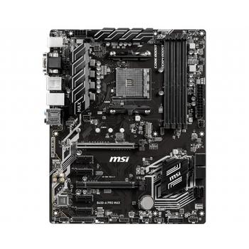 MSI B450-A PRO MAX AM4 DDR4 3466(OC) VGA DVI HDMI M.2 USB3.1 ATX