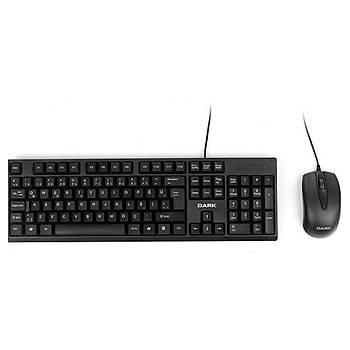 Dark DK-AC-KM1010 Kablolu Q Klavye Mouse Set