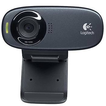 Logitech C310 HD Siyah Webcam 960-001065