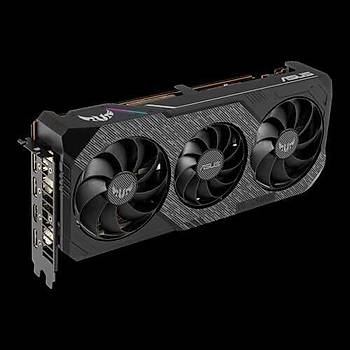 ASUS RADEON TUF 3-RX5600XT-T6G-EVO-GAMING 6GB GDDR6 192bit 1770MHz OC 1xHDMI 3xDP RGB 14 Gbps RAM HIZI EKRAN KARTI