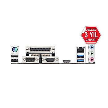 ASUS PRIME H310M-D R2.0 INTEL H310 LGA1151 DDR4 2666 HDMI VGA M2 USB3.1 COM LPT MATX WIN7+WIN10 DESTEKLÝ