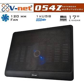 V-net 054Z Notebook Cooler 12cm fan, 1xUSB port Notebook Soðutucu