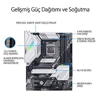 Asus PRIME Z490-A DDR4 S+V+GL 4600 DP LGA1200