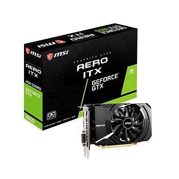 MSI VGA GEFORCE GTX 1650 D6 AERO ITX OC 4GB GDDR6 128B DX12 PCIE 3.0 X16 (1xDVI 1XHDMI 1XDP)