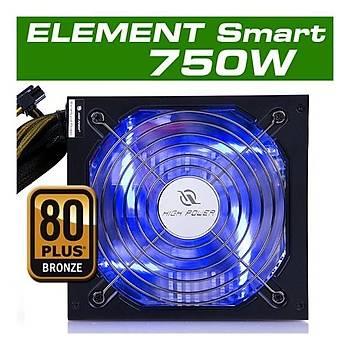 HighPower Element Smart 750W 80+ Bronze Güç Kaynaðý PSU