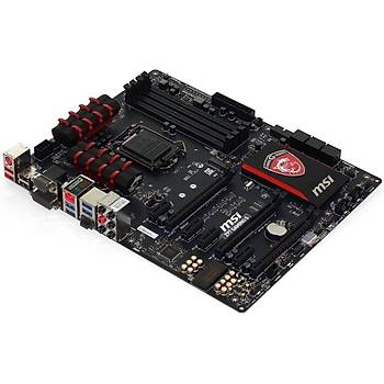Msi Z97A Gaming 7 DDR3 VGA DVI HDMI DP GLAN (Killer) Sata3 USB3.1 Anakart