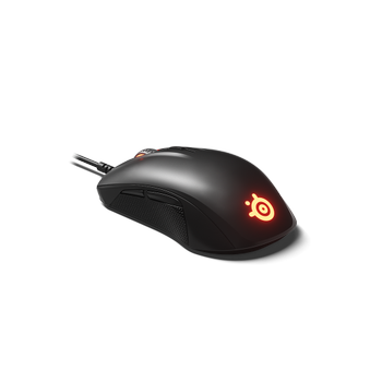 SteelSeries Rival 110 RGB Gaming Mouse + QcK (Medium) Mouse Pad