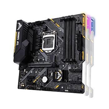 Asus Tuf B360-Plus Gaming Intel B360 LGA1151 DDR4 2666 HDMI VGA M2 USB3.1 Aura RGB Atx Anakart