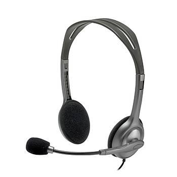 Logitech H111 Stereo Kulaklýk-Siyah 981-000593