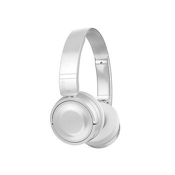 Hytech HY-XBK33 Batty TF Kart Özellikli Kulak Üstü Bluetooth Kulaklýk - Beyaz