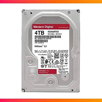 WD Red Pro 3,5 SATA III 6Gb/s 7200 4TB 256MB 7/24 NAS WD4003FFBX