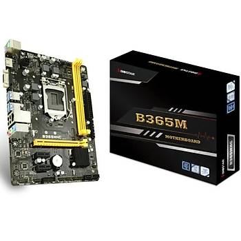 Biostar B365MHC DDR4 2666 Mhz  S+V+GL 1151p8