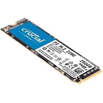 Crucial P2 250GB SSD m.2 NVMe PCIe CT250P2SSD8
