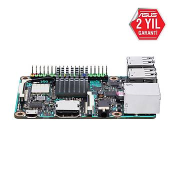 ASUS TINKER BOARD ARM 2GB RAM HDMI 4XUSB 2.0 WIFI TEK KART BÝLGÝSAYAR