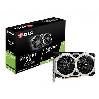 MSI VGA GEFORCE GTX 1660 TI VENTUS XS 6G GTX1660TI 6GB GDDR6 192B DX12 PCIE 3.0 X16 (1XHDMI 3XDP)