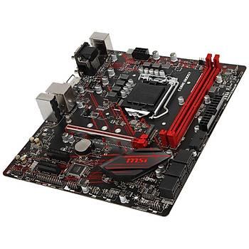 Msi B360M Gaming Plus Soket 1151 DDR4 2666 DVI VGA HDMI M.2 USB3.1 RGB mATX Anakart