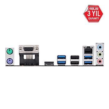 ASUS PRIME A320M-K/CSM AMD A320 SOKET AM4 DDR4 3200 HDMI VGA M2 USB3.1 MATX