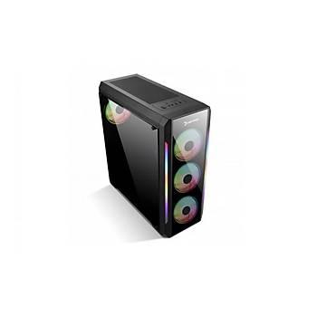 Gamepower Wraith ARGB Fan ARGB LED Bar Oyuncu ATX Kasa
