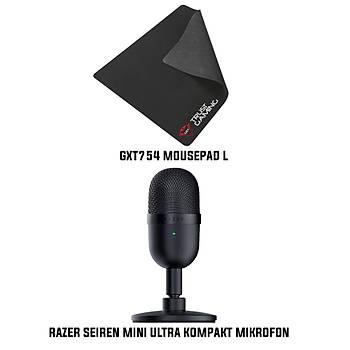 Razer Seiren Mini Kompakt Mikrofon + Trust GXT754 L Mousepad Bundle