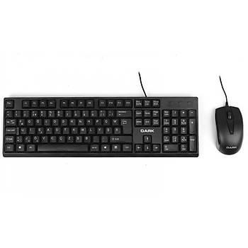Dark KM1020F Kablolu Ofis F Klavye Mouse Set