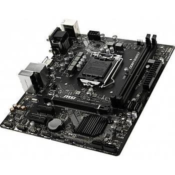 MSI H310m Pro-V Plus Ddr4 2666 Vga Sata 6gb/S Usb3.1 Matx Win7 Win10