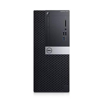 Dell Pc Optiplex 7070MT-i7-8GB-256SSD-W 7070MT i7-9700 8GB 256G SSD Windows10Pro F Klavye Masaüstü Bilgisayar